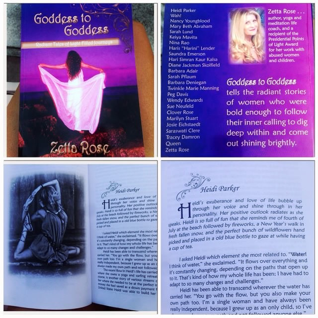 Goddess to Goddess:: by Zetta Rose::: Radiant tales of light filled journeys of women who were bold enough to follow their inner calling to dig deep and come out shining brightly. (Read about me and my coming undone and back together again and how Seeking Santosha Nicaragua was born::: purchase on Amazon)