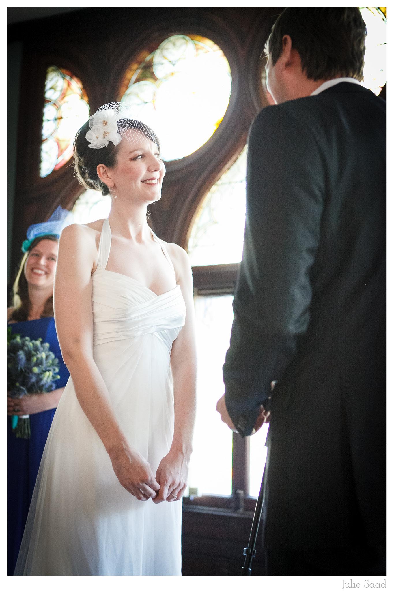 Beautiful Bride at the Montauk Club Wedding