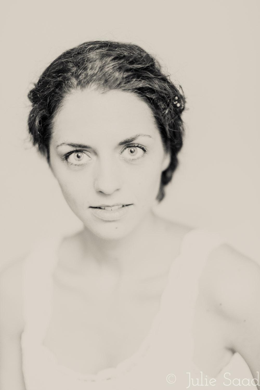 tintype style portrait