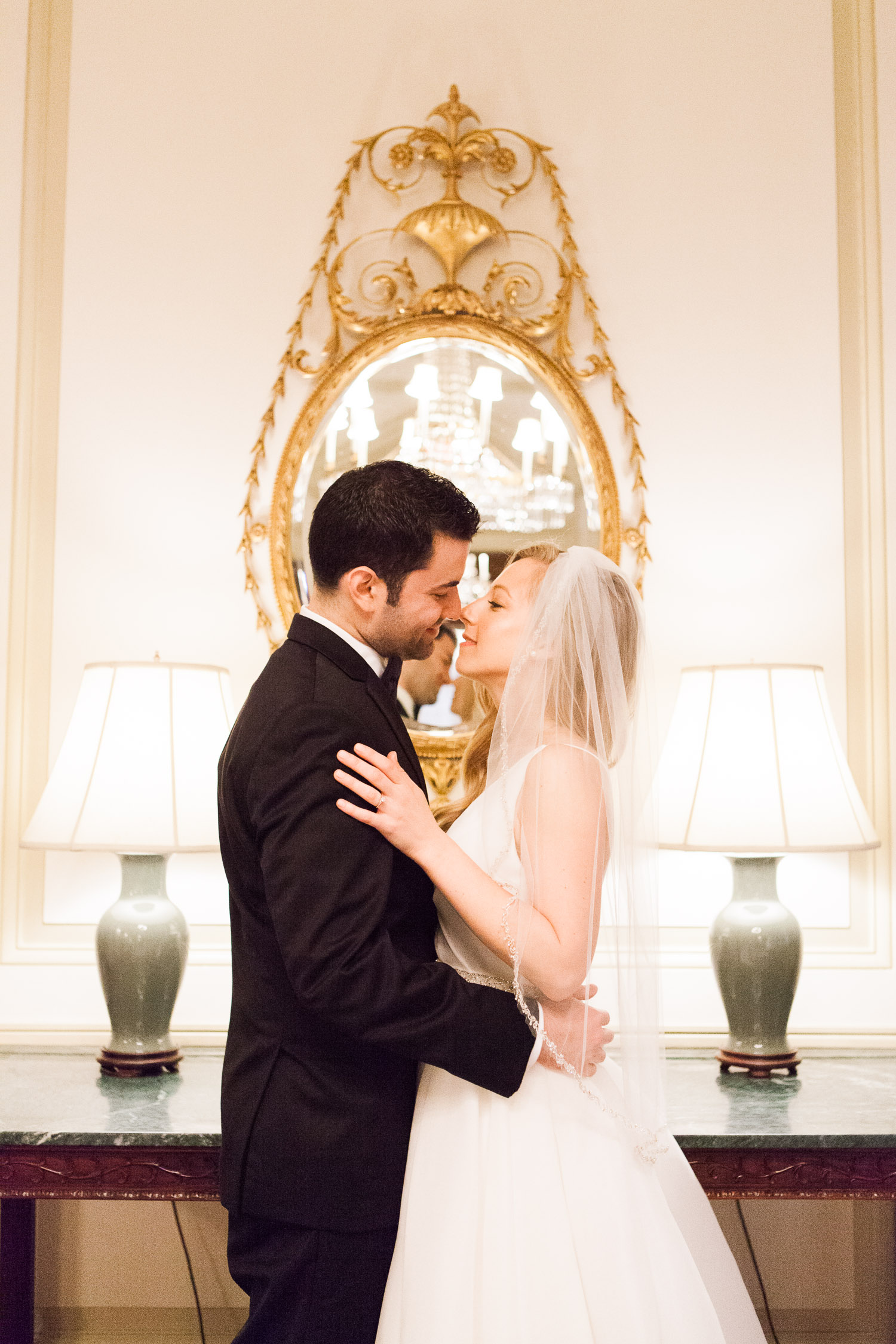 Lauren and Eric married at the Harold Pratt House