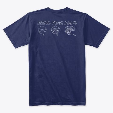 Click here to buy  Helmet T Shirt - Navy