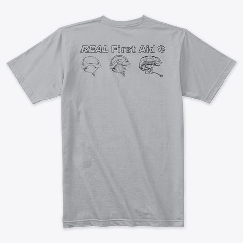 Click here to buy  Helmet T Shirt - Grey
