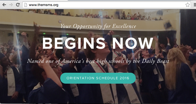 Simply click on the Orientation Schedule 2016 button to access an easy to read and view schedule.