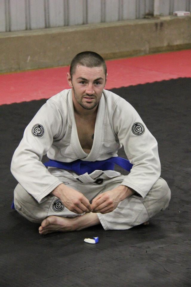 HMAA's newest Blue Belt, Bayden Mandich