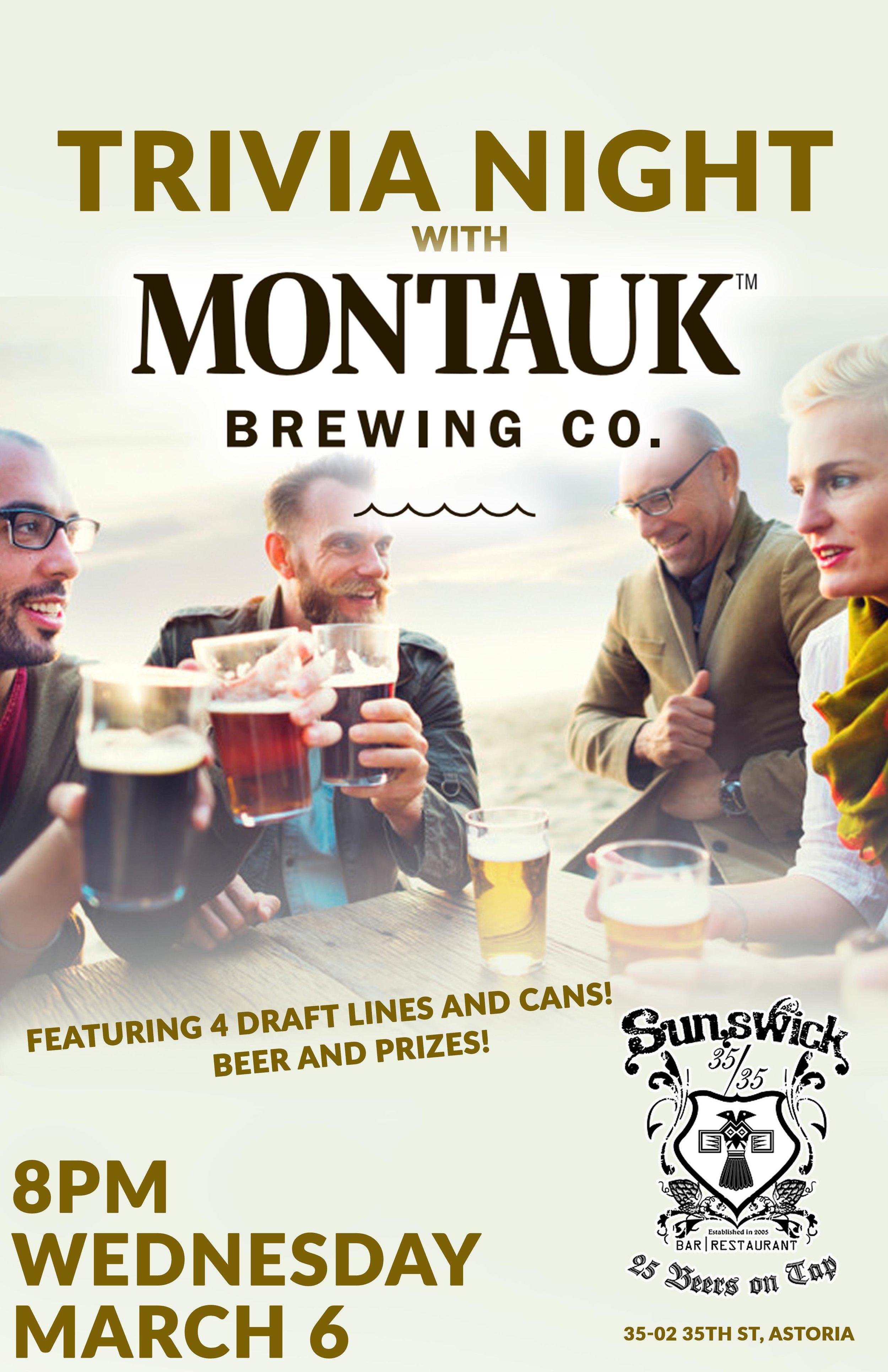 Trivia Night at Sunswick — S K I  Beer