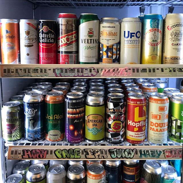 Getting a lot of S.K.I. love at The Sampler in Bushwick — Great spot to pick up some craft beer 🍻 … … #craftbeerbk #craftbeernyc #craftbeer #fridays #coldones #happyhour #localbeernyc #localbeer #skibeer #brooklyn #brooklynbeer #craftbeerlove #ipa #hefeweizen #paleale #lager #pilsner