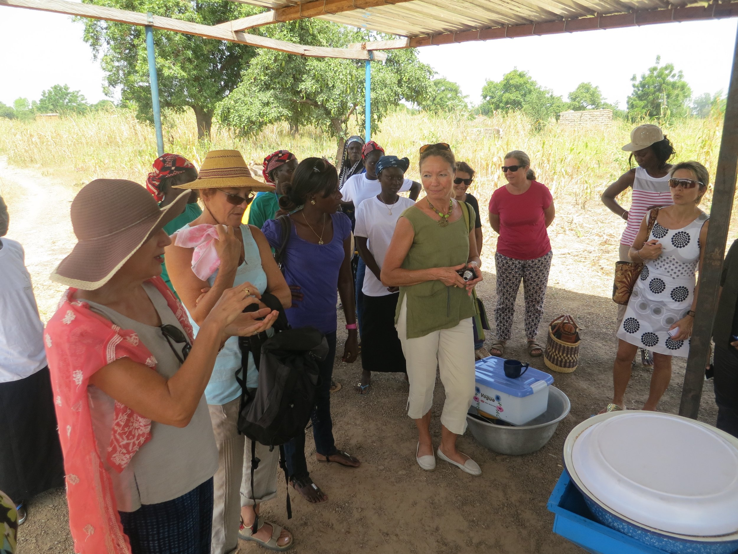 """En 2013, le Clif avait financé la """"tête"""" de notre moulin nécessaire à la fabrication des pâtes d'arachide/sésame."""