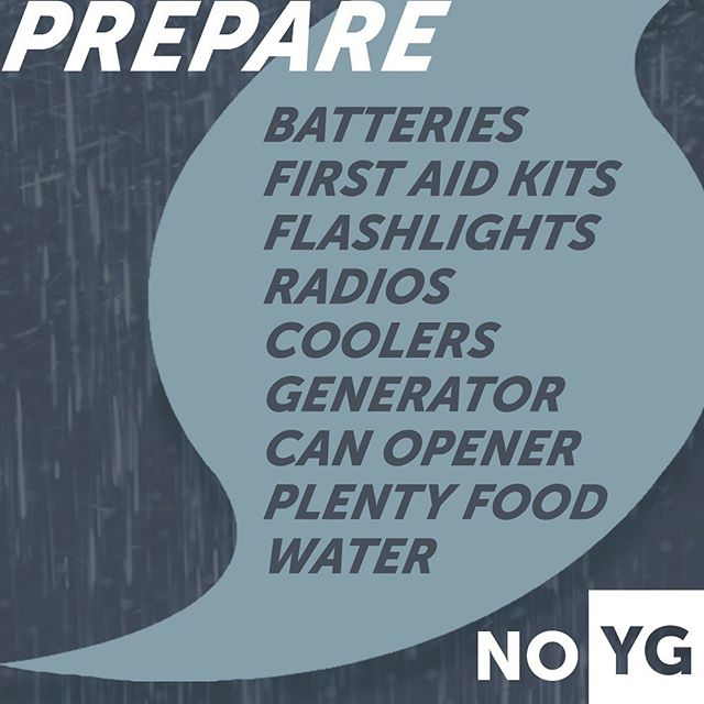 Be prepared. Stay safe. And most importantly, know that God has got this all under control!