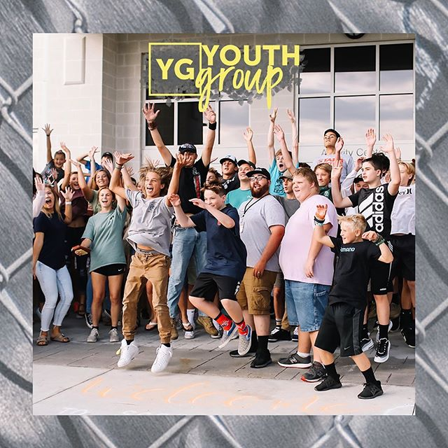 YG TONIGHT!! Can't wait to see all of you! Cross Point doors open at 6:15p. Pretzels and pizza will be waiting... 🥨🍕