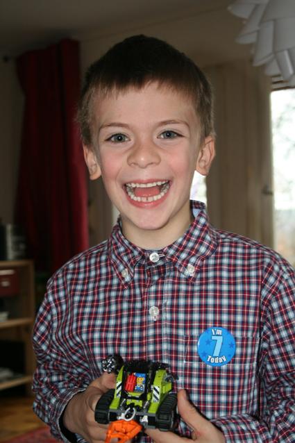 Seventh birthday in 2009