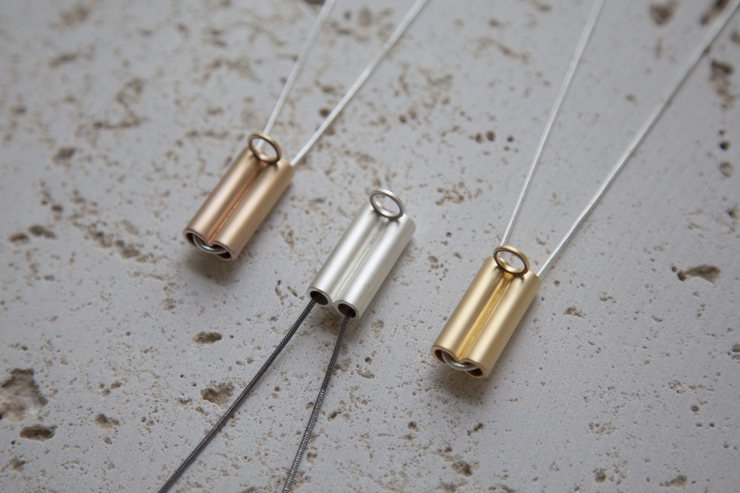 14K Rose Gold Plated, Premium Silver and 18K Gold Plated