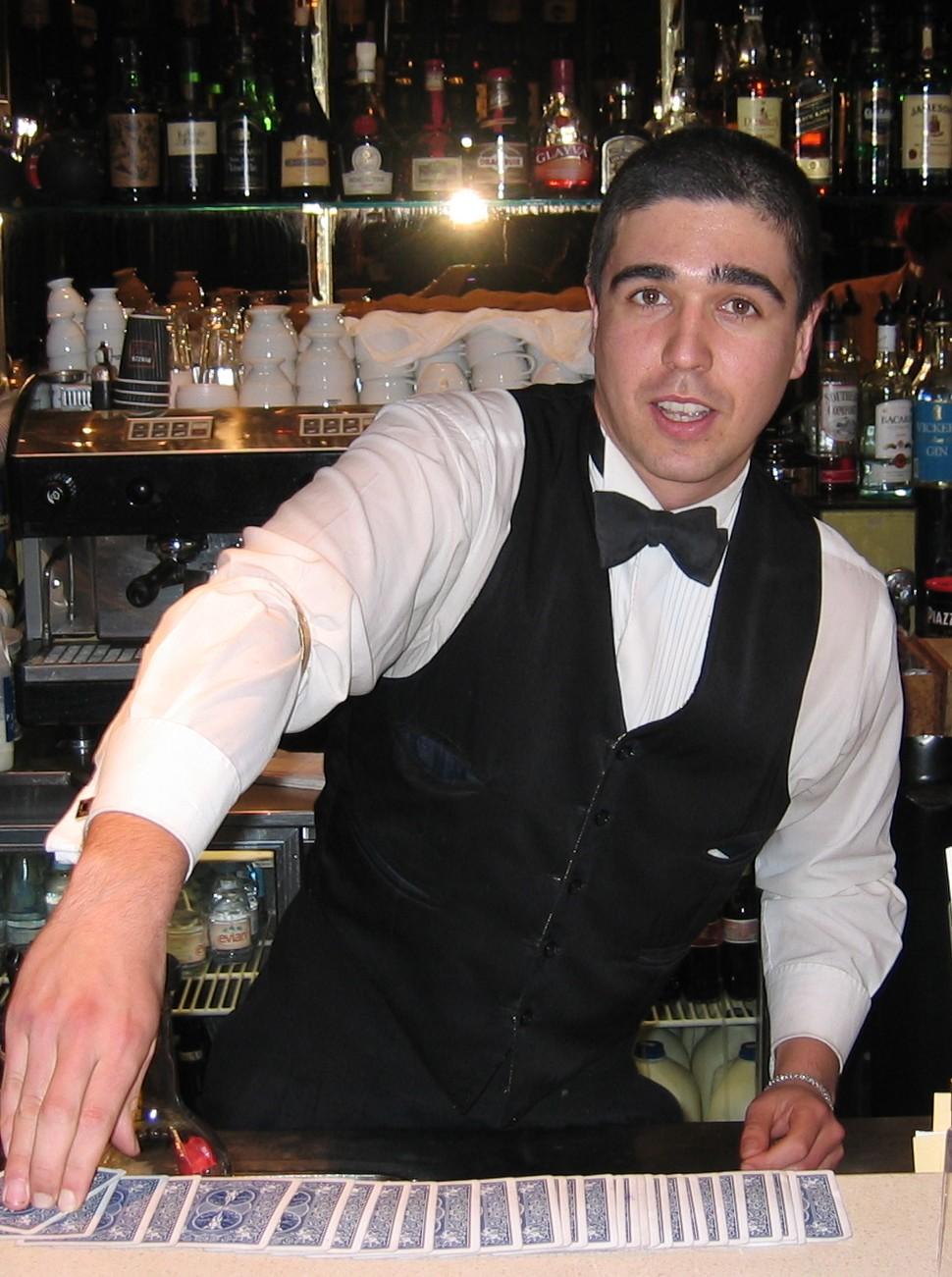 Ben Hutton is Melbournes premiere roving magician.