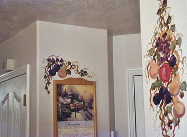Mural, Fruit Accents