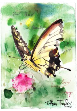 """""""She flies in beauty... soar... love... happy"""""""