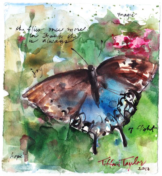 """""""In Beauty she always is... magic...joy...of flight"""""""