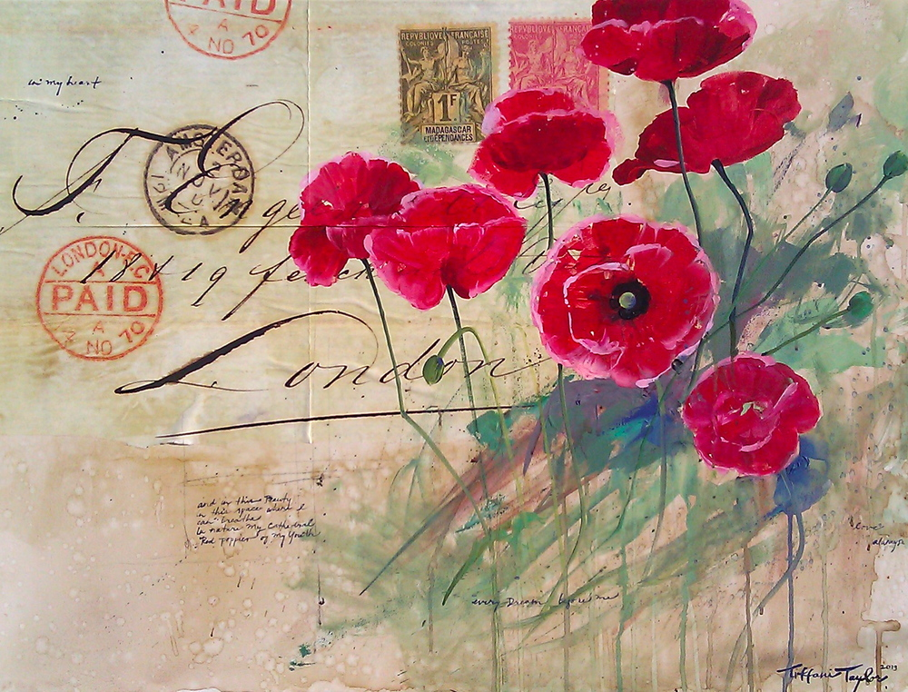 """Red Poppies: Love letter..."""