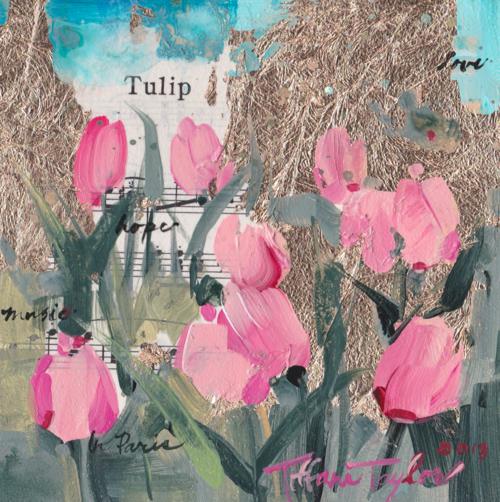 Pink Tulips:  Music...