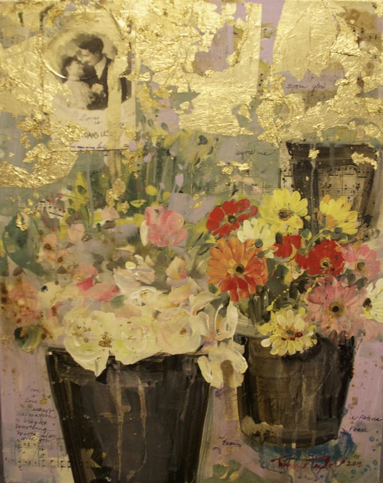 Parisian Flower Market:  Love is love...