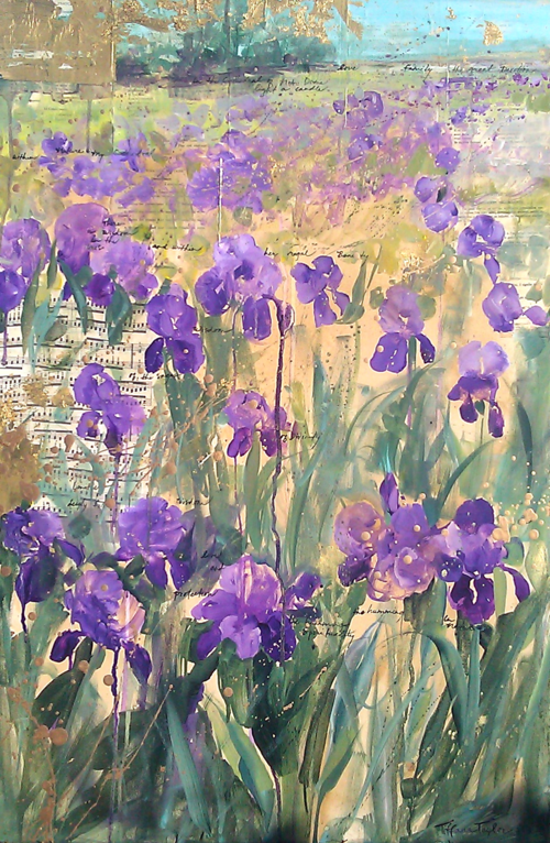 In France, Wisdom of the Irises...