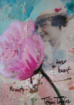 In her heart...