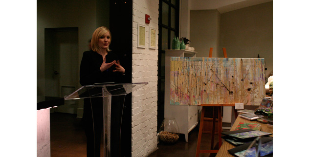 Art Education:  Andaz January Salon Artist