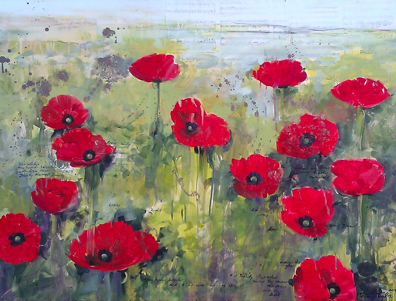 Red Poppies: Beauty, Always Beauty, Love...