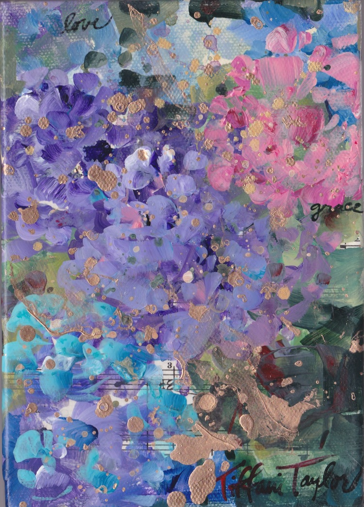 In Paris: Colorful Hydrangeas, Love, Grace, and Beauty...