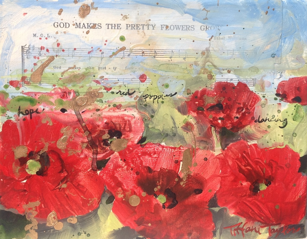 Red Poppies:  Music...