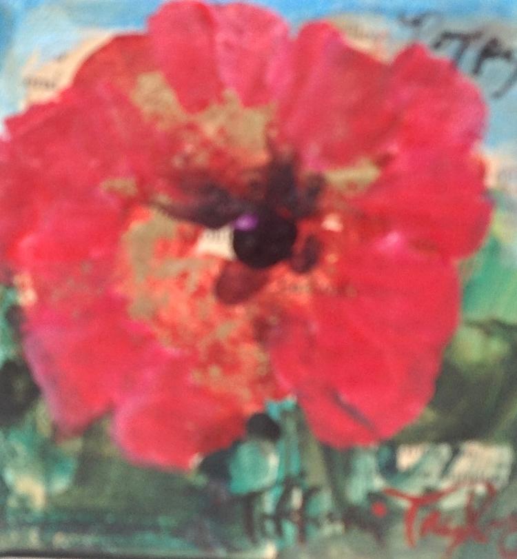 Italian Poppy:  Love, Beauty...