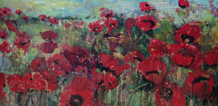 Red Poppies: Bird Song