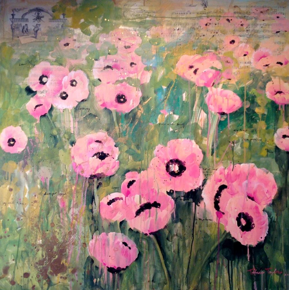 Pink Poppies:  Minuet Sheet Music, Love...