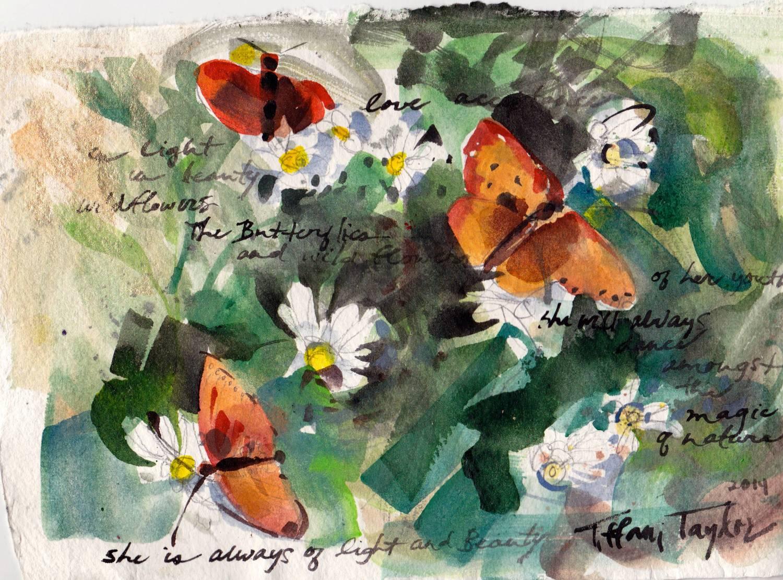 In Light, In Beauty: Butterflies and Wildflowers
