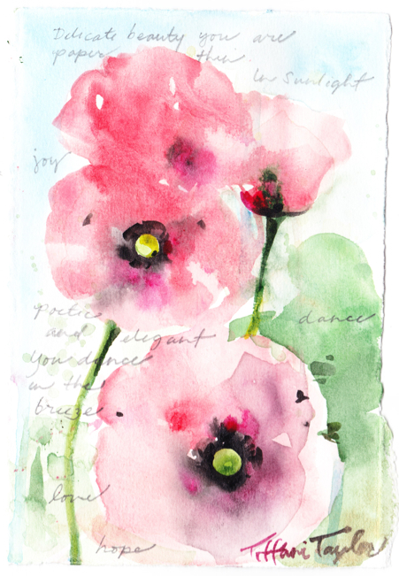 Pink Poppies:  Beauty you are...