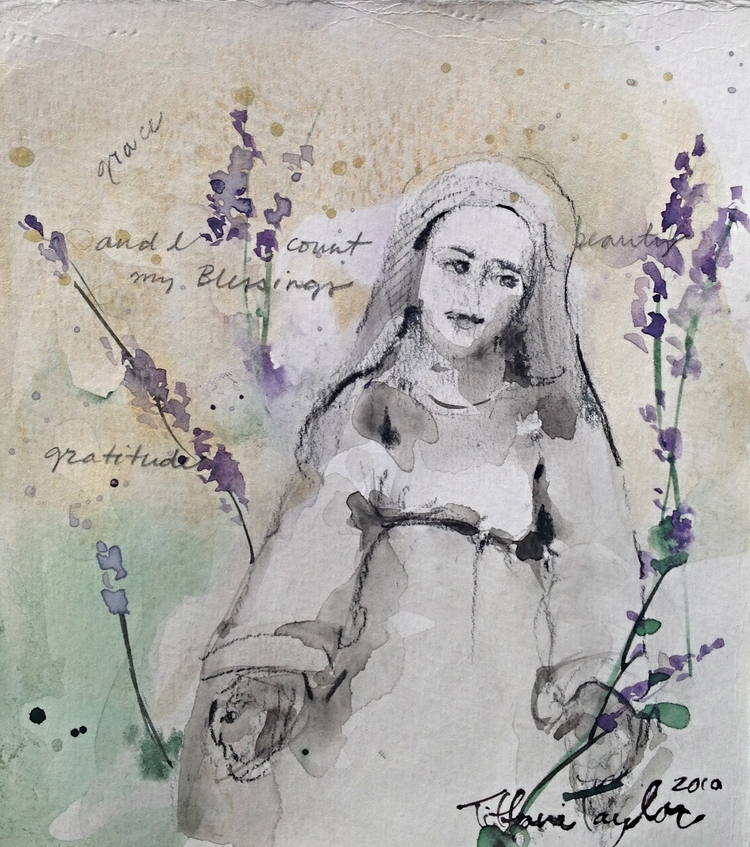 Mary in Lavender