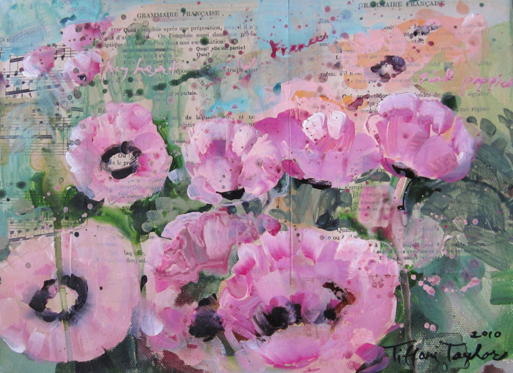 Francaise:  Pink Poppies