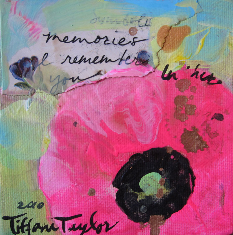 Pink, Pink Poppy:  Remember