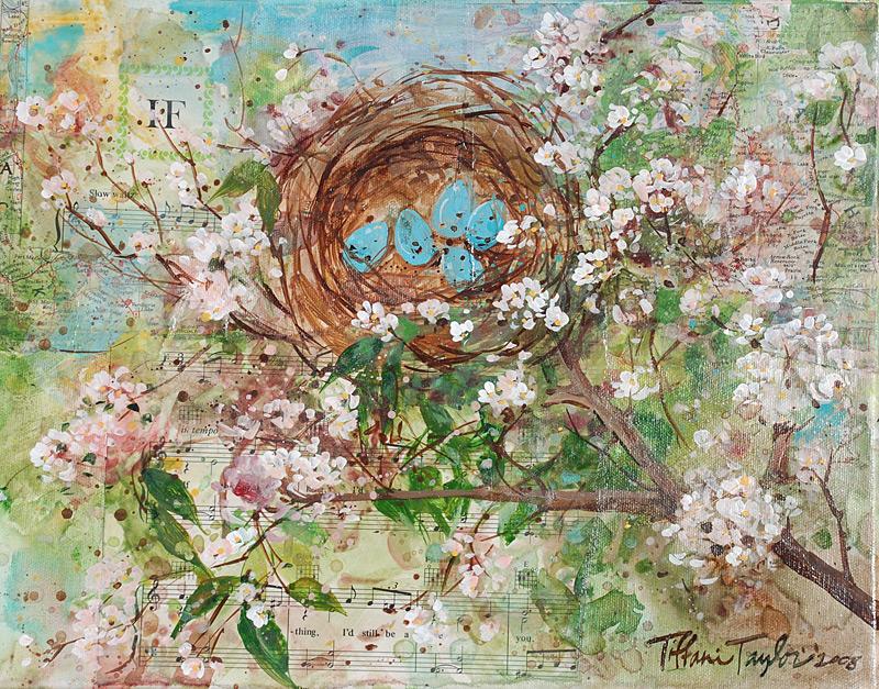 """Nest: Orange Blossoms"""