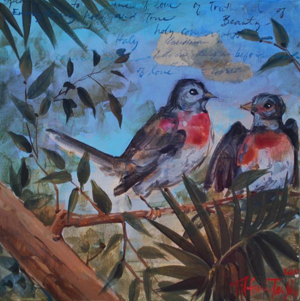 Vatican Birds:  Conversations of Love