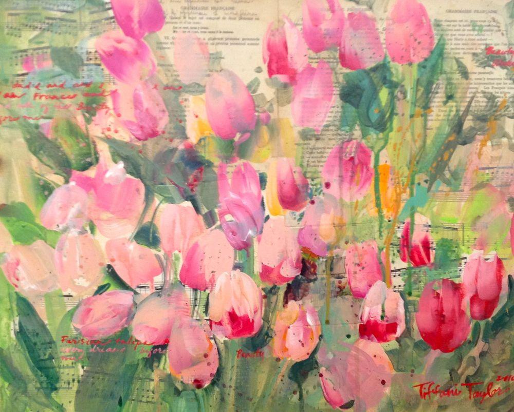 Parisian Tulips:  Manuscripts