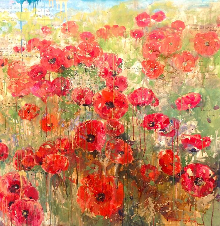 Red Poppies:  Your Beauty, Divinity...