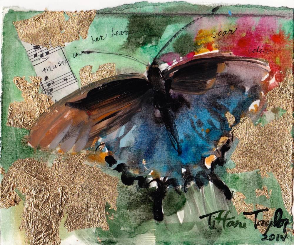 Butterfly:  Music in her heart