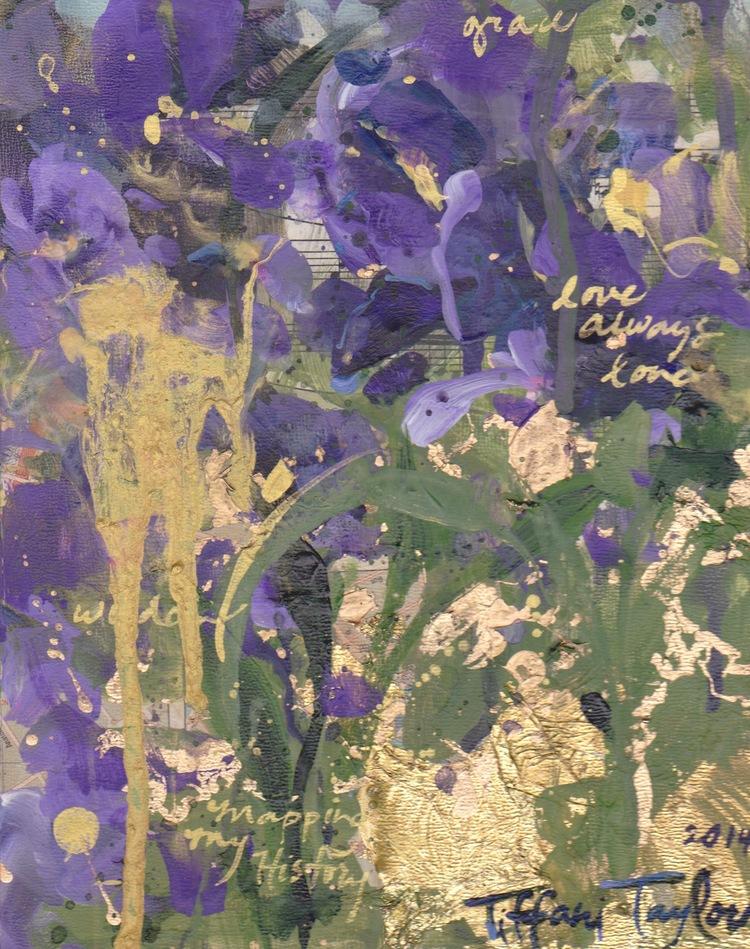 Expressionistic Irises:  Love Always Love...