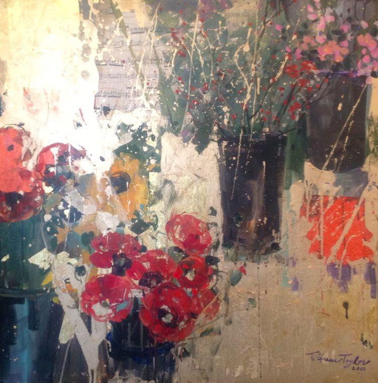 Flower Market:  Light and Beauty...