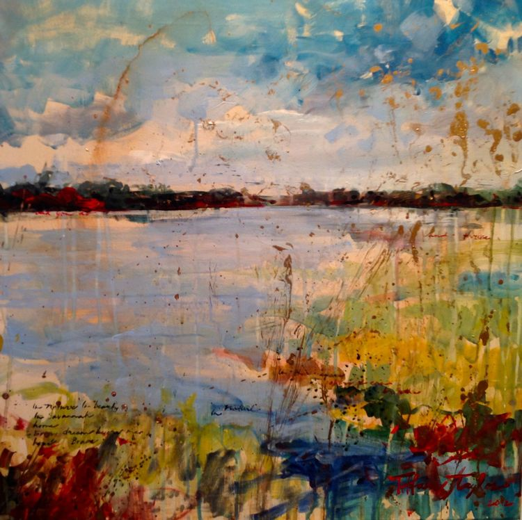 Expressionistic Marsh:  In Nature In Beauty...