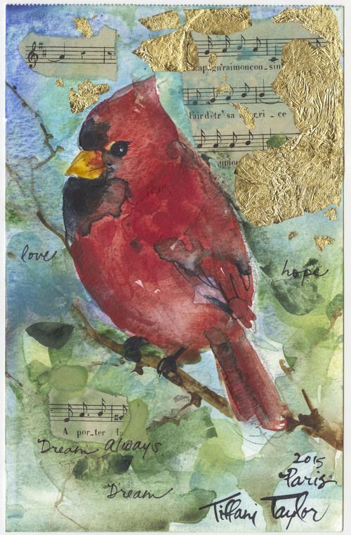 Cardinal: Love, hope, dream...Always Dream...