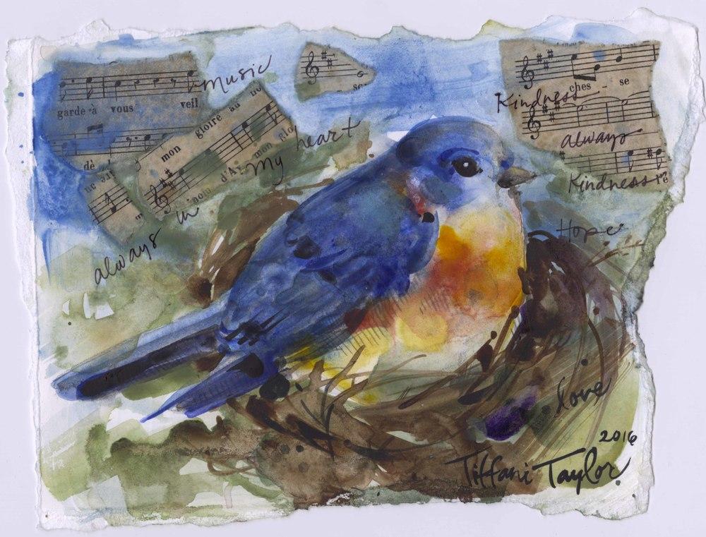 Bluebird of Happiness: Music Always in My Heart...