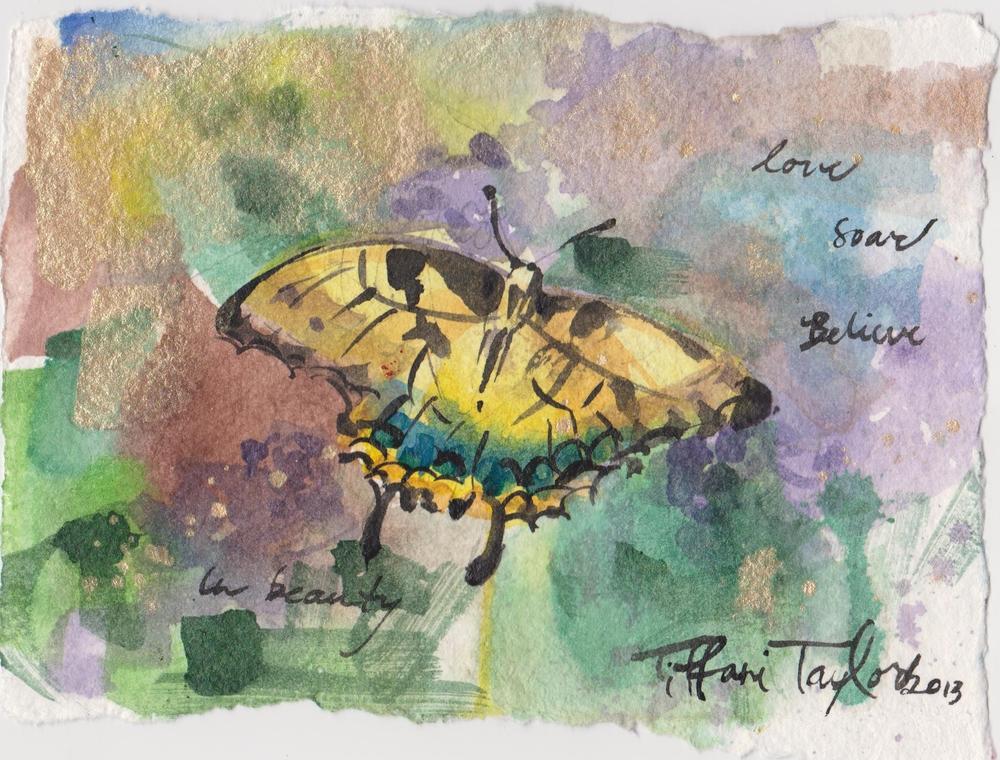 Butterfly: Love, Soar, Believe...