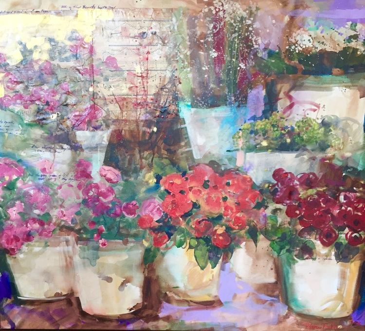 Parisian Flower Market: Love and Light...