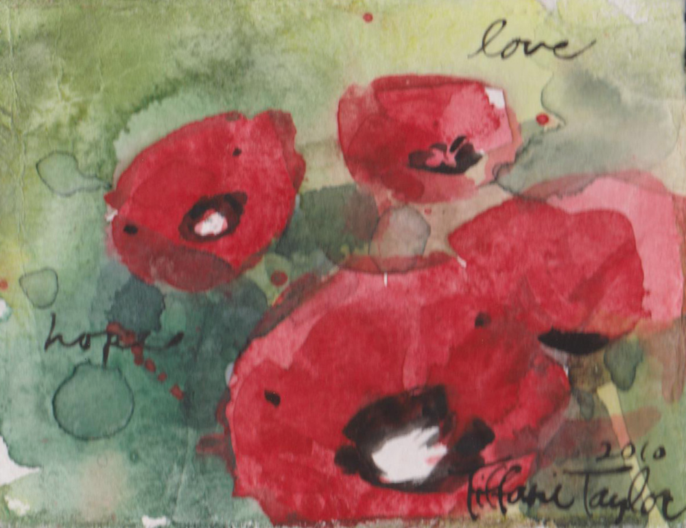 Expressionistic Poppies: Love...
