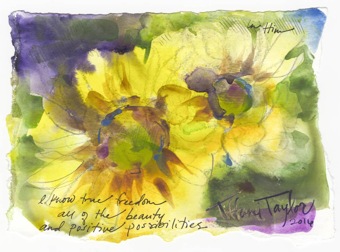 Sunflowers: Positive Possibilities...
